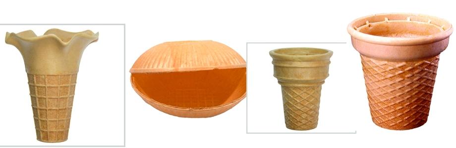 Eis Waffeln - Waffeltüten