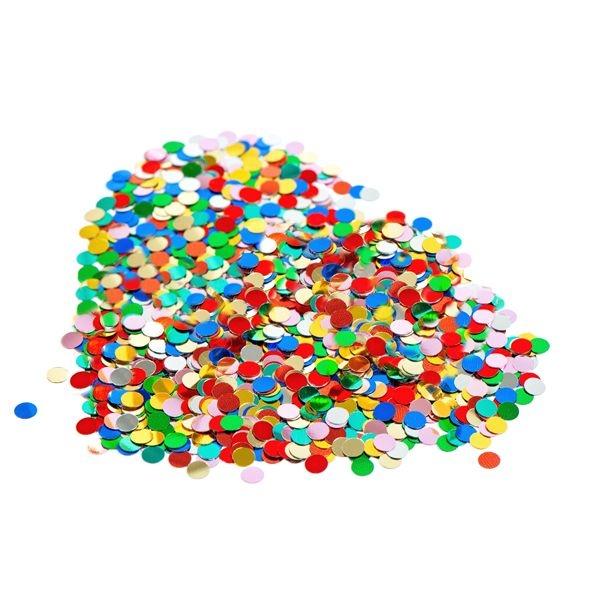 Papierkonfetti - Konfetti bunt gemischt - 100g