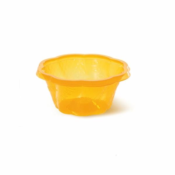 O2 Bio PLA Eisbecher - 300ml Orange - 50 Stück