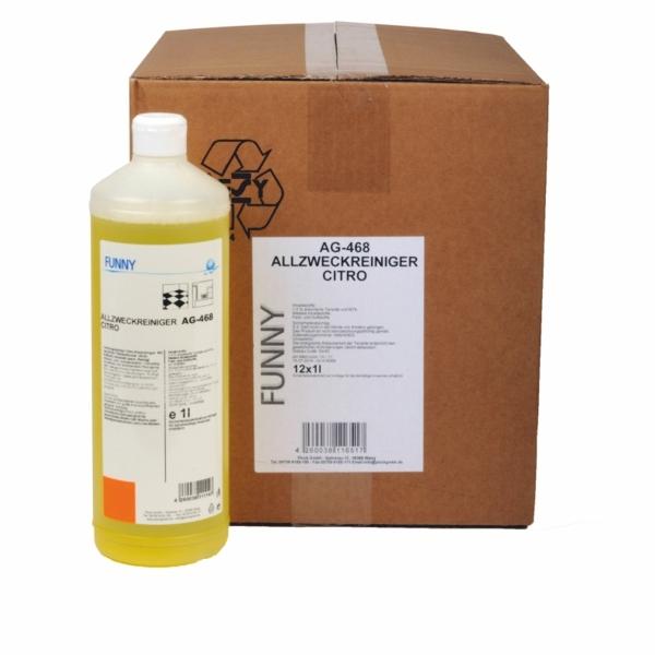 (1,75 €/L) Allzweckreiniger - Universalreiniger Citrus Duft - 1 Liter