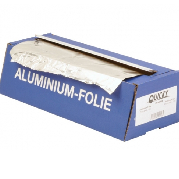 Alufolie in der Cutterbox  44cm x 150 lfm - 1 Box
