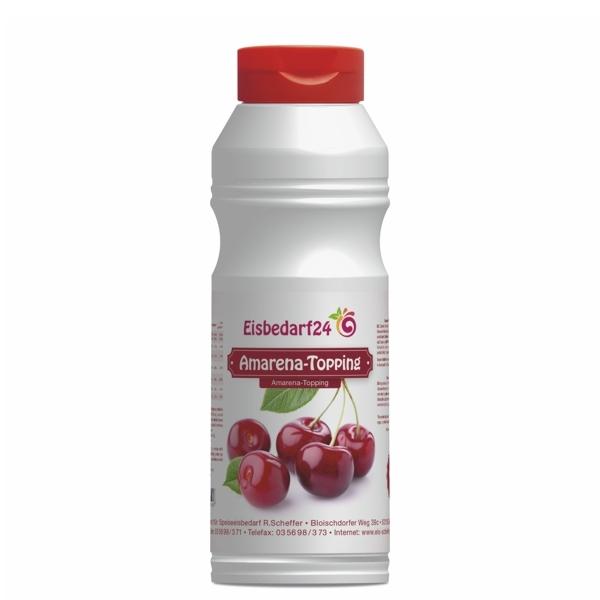 (5,95 €/Kg) Amarena Sauerkirsch Sauce - Eis Topping HM - 1 Kg