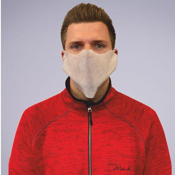 Einweg Behelfs- Mund- und Nasenmaske M1 in Weiss aus PP-Vlies* - 100 Stück