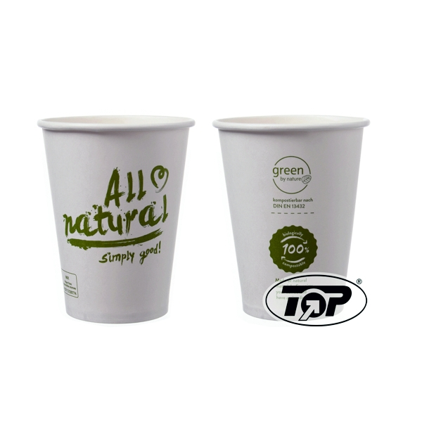 Bio Kaffeebecher All Natural - 8oz - 200ml - 1000 Stück