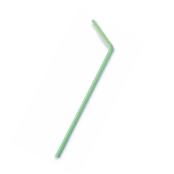 Flexible Bio Trinkhalme PLA d=5mm - 24cm - 500 Stück