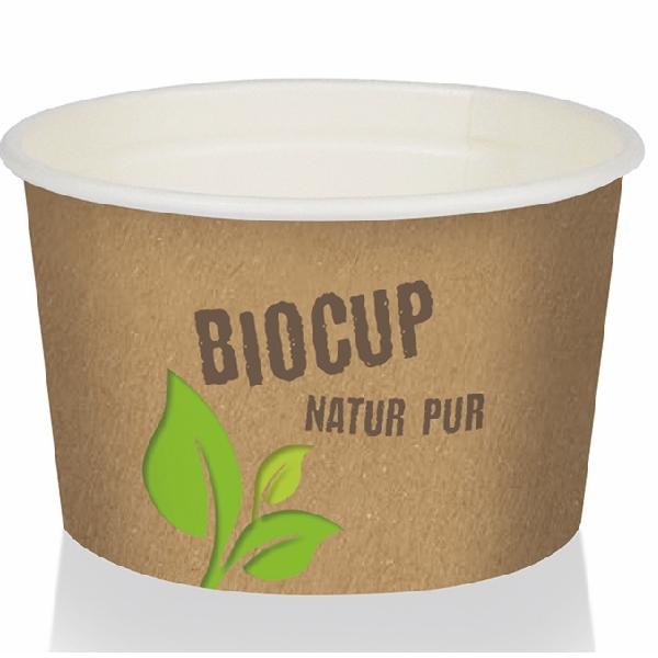 Pappbecher Bio Cup - 300ml (GE-300) - 180 Stück