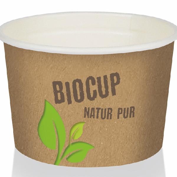 Pappbecher Bio Cup - 500ml (GE-4M) - 150 Stück