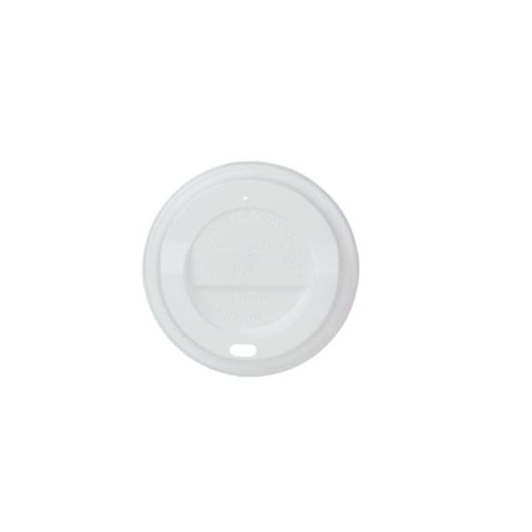 Deckel CPLA für Kaffeebecher All Natural - 12oz - 300ml - 100 Stück