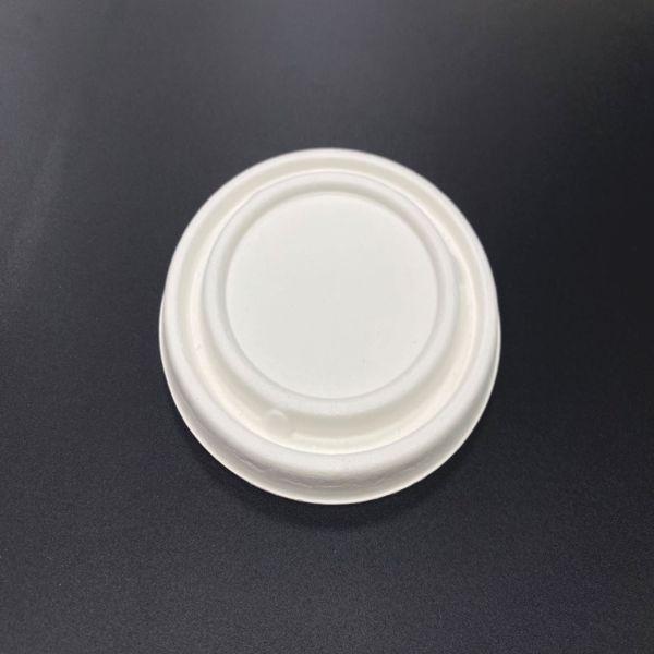 Deckel für Bagasse Bio Suppenterrine 500 ml - 50 Stück