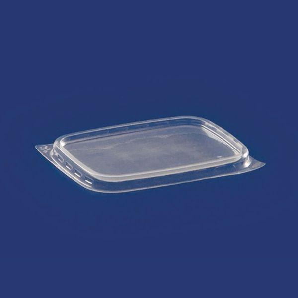 Deckel Feinkostbecher PP eckig - 125-500ml - 100 Stück