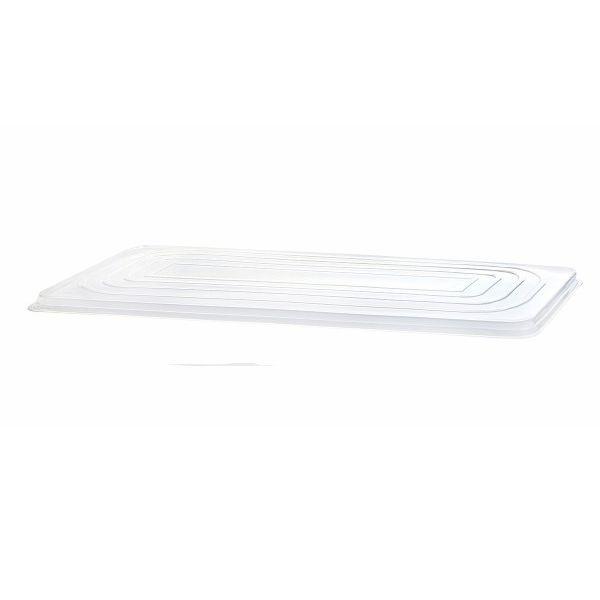 Deckel Einweg Silber Eisschale mit Clip 5,0 Liter - 1 Stück