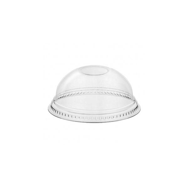 Dome Deckel für PET Clear Cup - d=95mm - Ohne Loch - 50 Stück