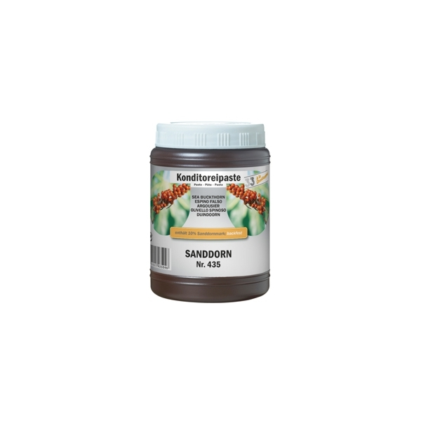 Sanddorn Aromapaste Gelatop - 1,0 Kg