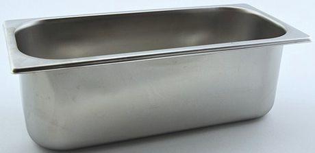 Edelstahl - Eisschale 360x165x120mm - 5,0 Liter - 1 Stück