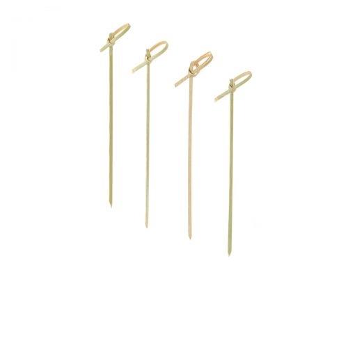 """Fingerfood Bambus Spieß - 12cm """"Knoten"""""""