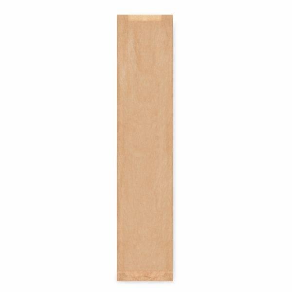 Papiertüten Faltenbeutel Baguettes braun - 12+5 x 59cm - 1000 Stück