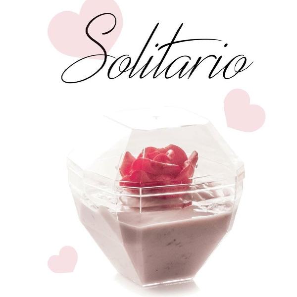 Fingerfood Schalen Solitario und Deckel 180ml - 20 Stück