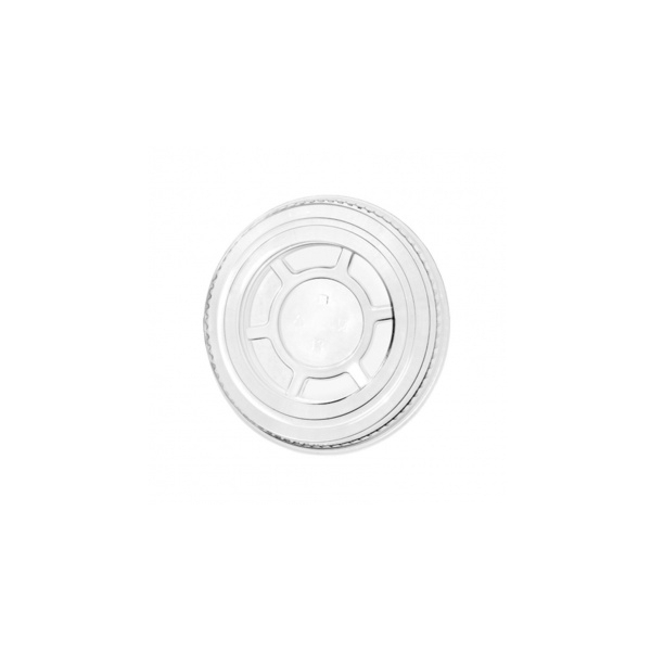 Flachdeckel ohne Schlitz - Clear Cup´s - Ø=95mm - 800 Stück