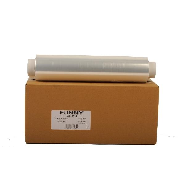 Frischhaltefolie - Klarsichtfolie PVC 30cm x 300m - 9my