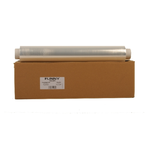 Frischhaltefolie - Klarsichtfolie PVC 45cm x 300m - 9my