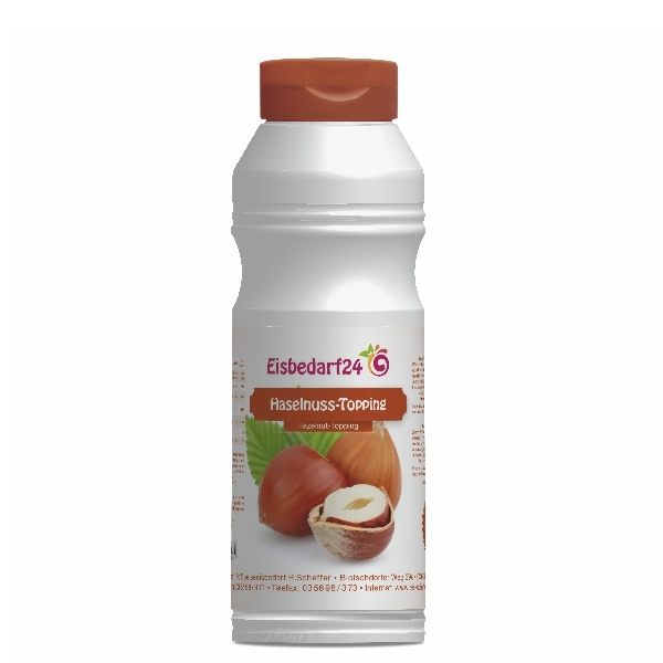 (6,95 €/Kg) Haselnuss Sauce - Eis Topping HM - 1 Kg