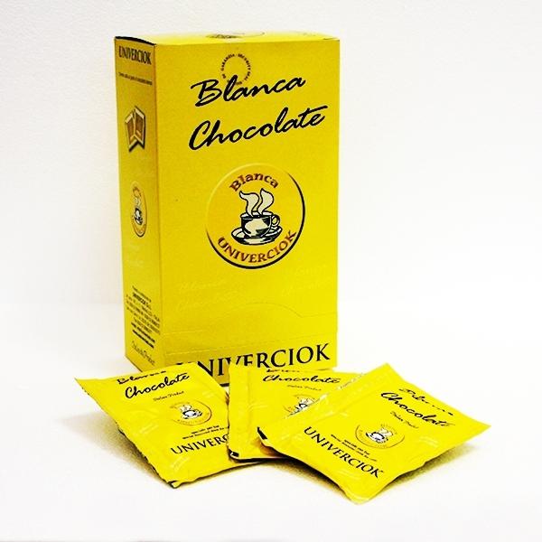 Heiße Schokolade Univerciok - Bianca weiß