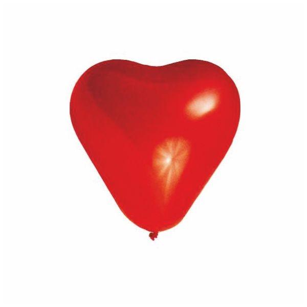 Luftballons Herzen - Rot - Größe L - 35cm - 100 Stück