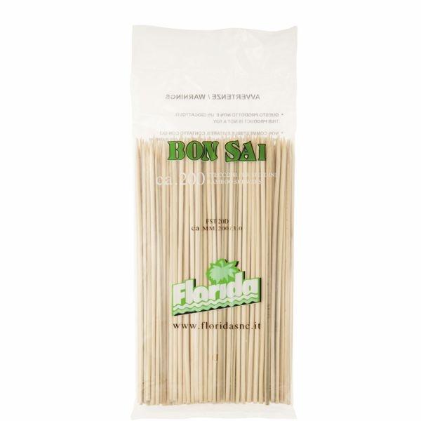 Bambus Schaschlik - Spieß - 3mm x 20cm - 200 Stück