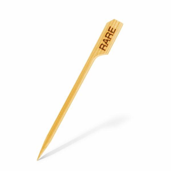 Bambus Holz Spieß - Rare - 9cm - 250 Stück