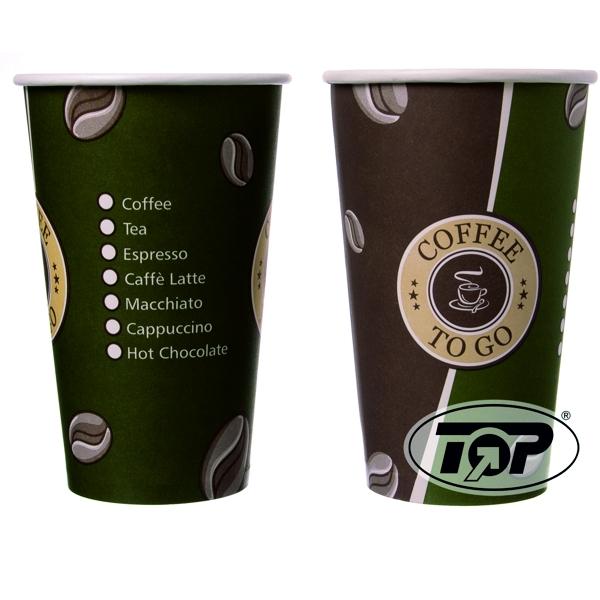 Coffee To Go Becher Topline - 16oz - 400ml - 1000 Stück