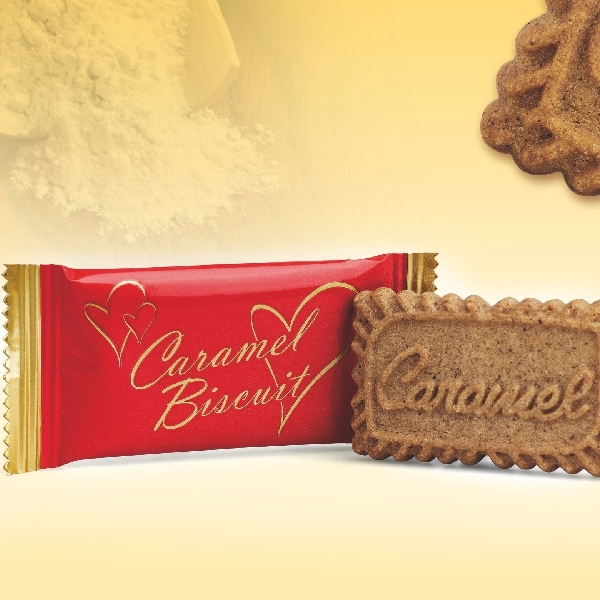 Karamellgebäck - Kaffee Kekse einzeln verpackt - 300 Stück