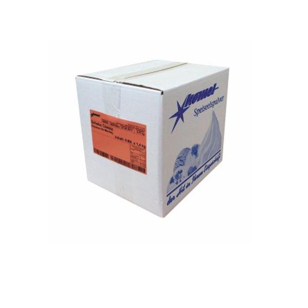 (5,95 € / Kg) Komet Softeispulver Schoko Classic - 6x1,4 Kg
