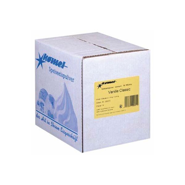 Komet Softeispulver Vanille Classic - 6 x 1,4 Kg