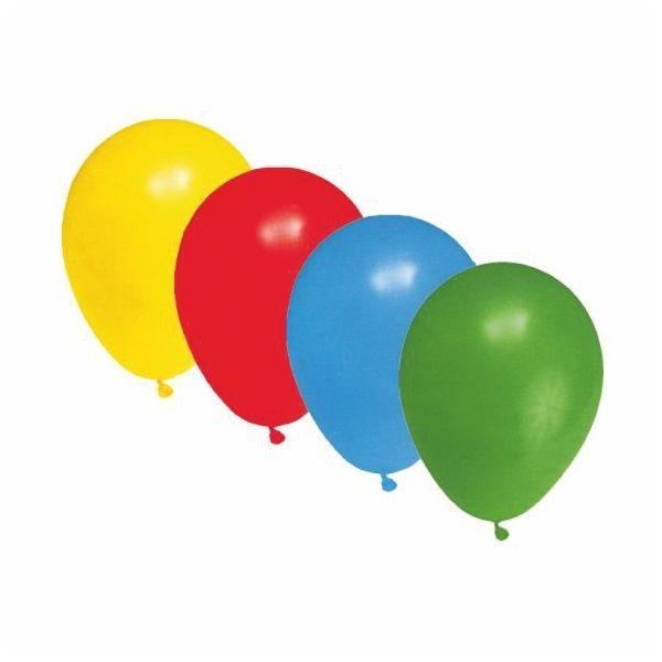 Luftballons Latex - bunt - Größe M - 25cm - 100 Stück