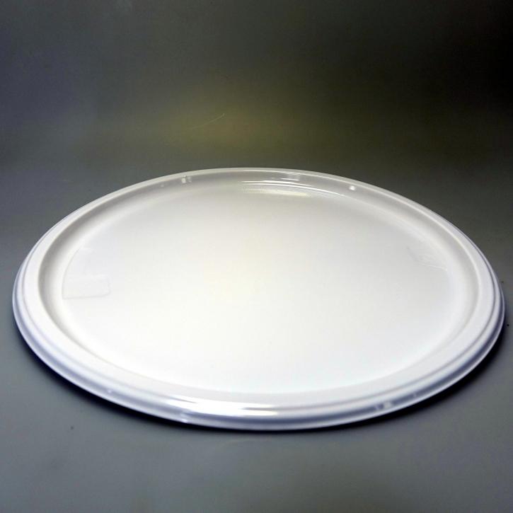 Menüteller Maxi rund weiß Ø=31cm - 10 Stück
