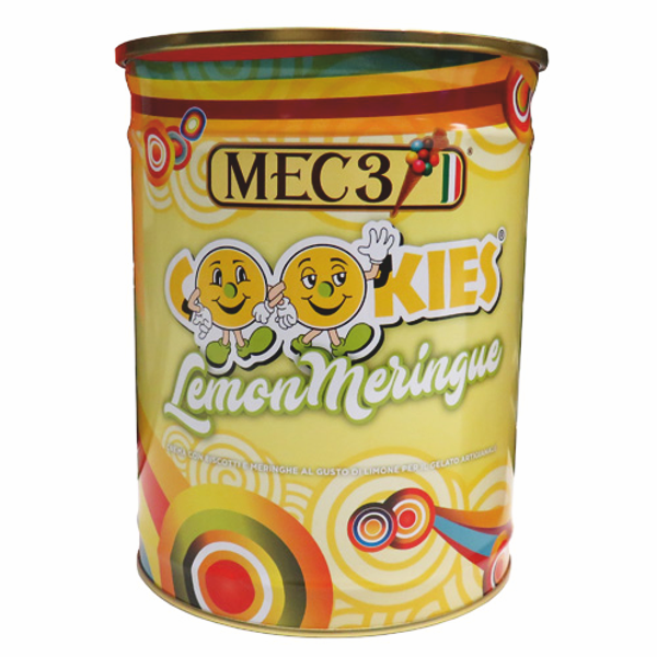 MEC3 - Variegato Cookies Lemon Meringue - 5,5 Kg