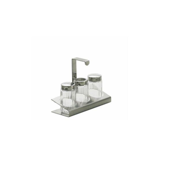 Stöckel Menage Pfeffer, Salz, Zahnstocher - Modell 403