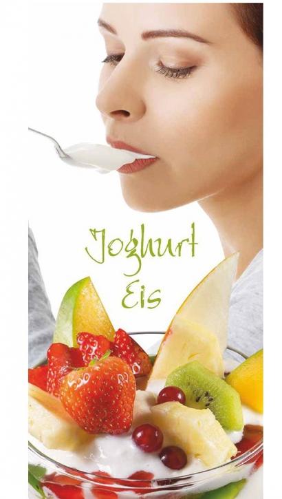 Menükarten  Eiskarten  Joghurt Eisbecher - 10 Stück