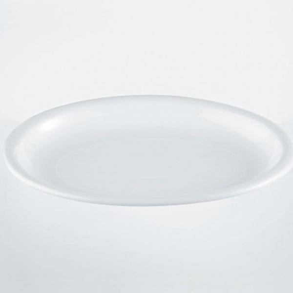Menüteller PP oval 26 x 19cm - 10 Stück