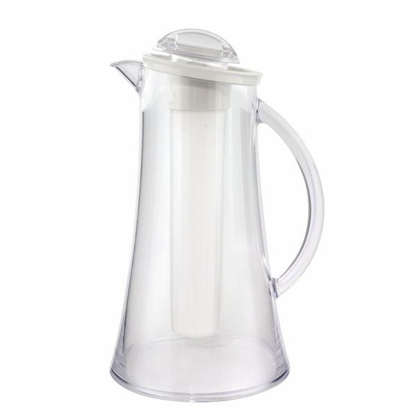 Karaffe Polycarbonat + Deckel + Kühler - 2 Liter