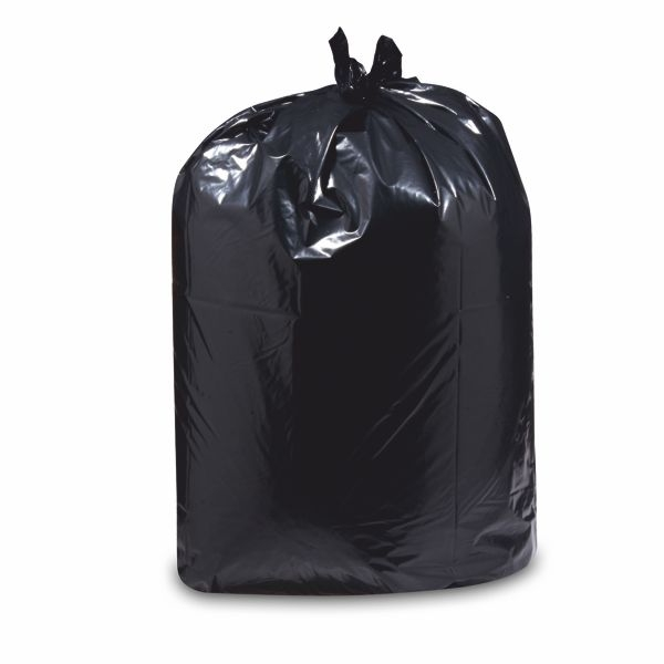Müllbeutel, Müllsäcke, Abfallsäcke - LDPE schwarz 60 Liter - 25 Stück
