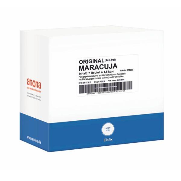 Anona Maracuja Eisfix Original 7 x 1,5 Kg