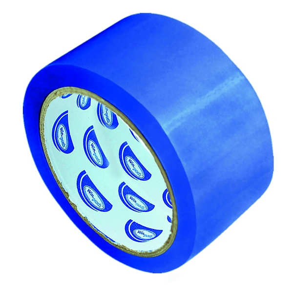 Klebeband PP - Standard Paketklebeband 66m x 48mm - Blau - 6 Rollen