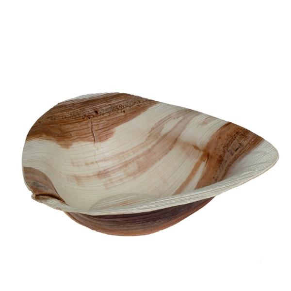 Palmblatt Schüssel Trigon - 18 x 17cm - 300ml
