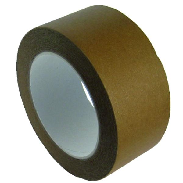 Papier Klebeband - Paketklebeband 50m x 50mm - Braun - 6 Rollen