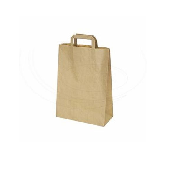 Papiertragetaschen braun - 22x10,5x30cm - 300 Stück