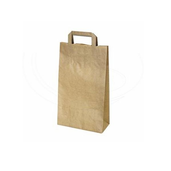 Papiertragetaschen braun - 22x11x36cm - 300 Stück