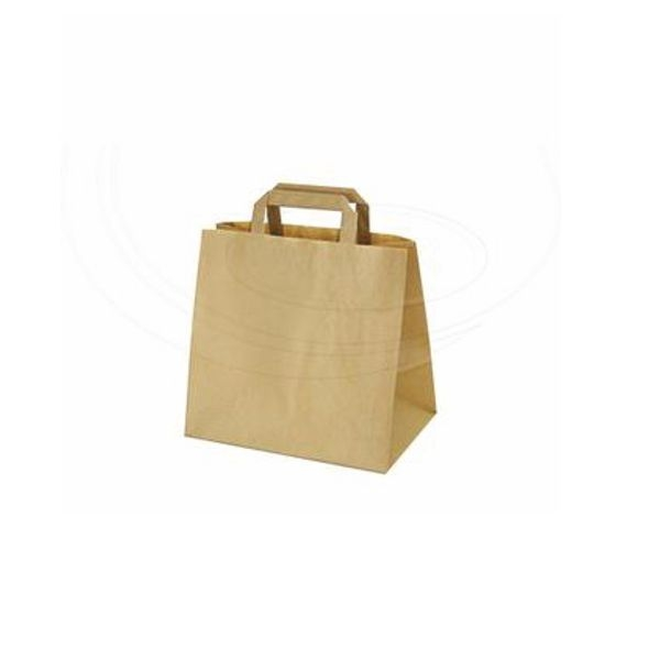 Papiertragetaschen braun - 26x17x26cm - 400 Stück