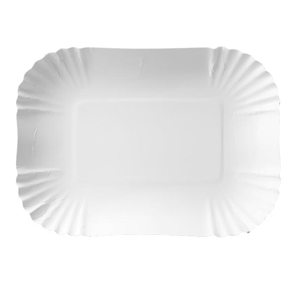 Pappteller - Pappschalen 13 x 18 x 3cm - 250 Stück
