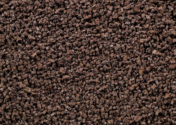 Schokoladen fein - Raspel Parmesan bitter Dunkel - 5 Kg